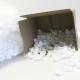 polistirolo per imballaggio - sacchi di virgole