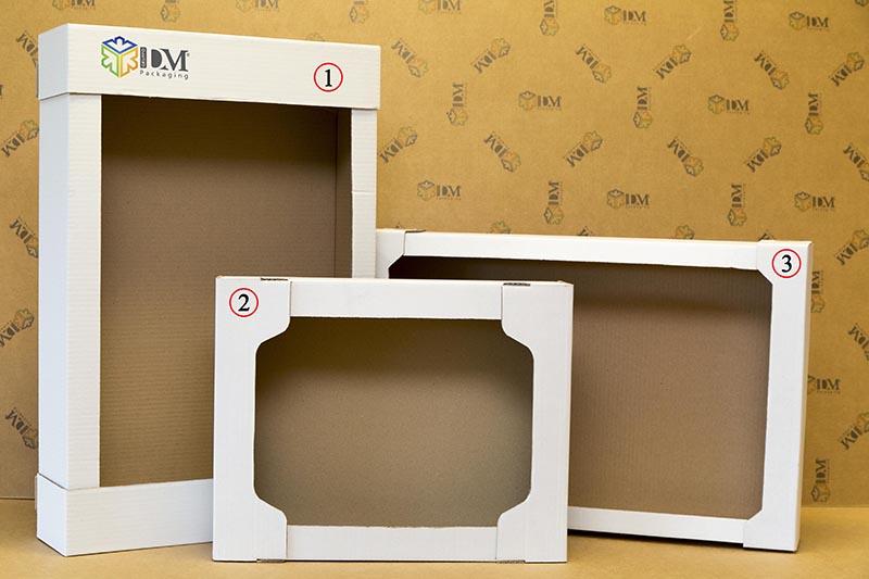 scatole fustellate automontanti - cassetti pasticceria