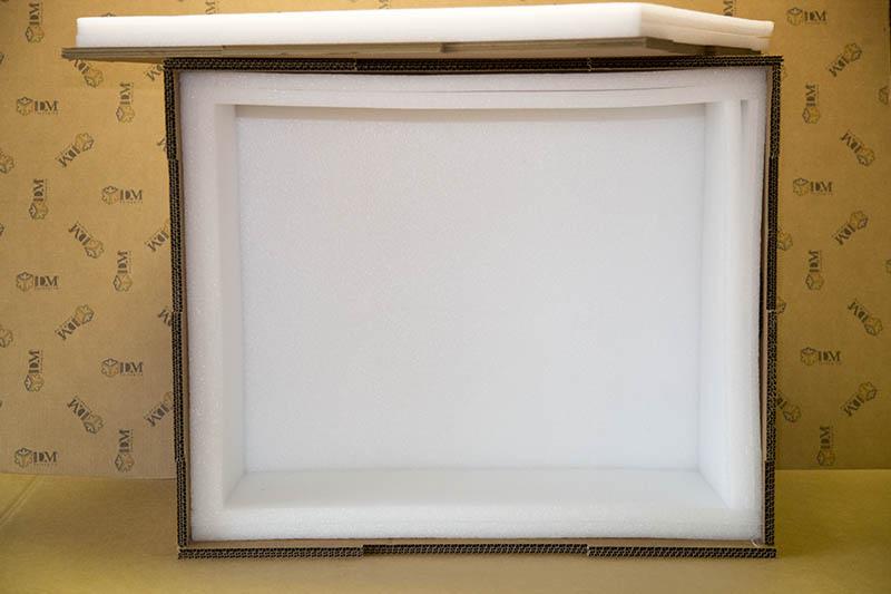 scatole su misura - inserti in polietilene