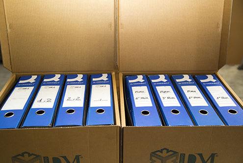 scatole archivio - scatola da 4 faldoni