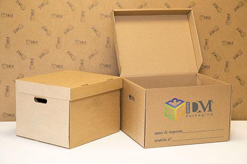 scatole archivio - scatole da 4 e 5 faldoni