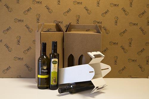 scatole per bottiglie - valigetta senza colla