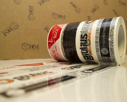 nastro adesivo stampato - 50x132 b
