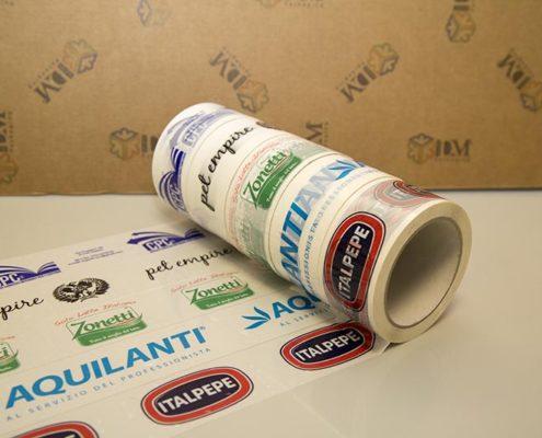 nastro adesivo stampato - 50x66 a