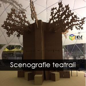 scenografie teatrali - albero