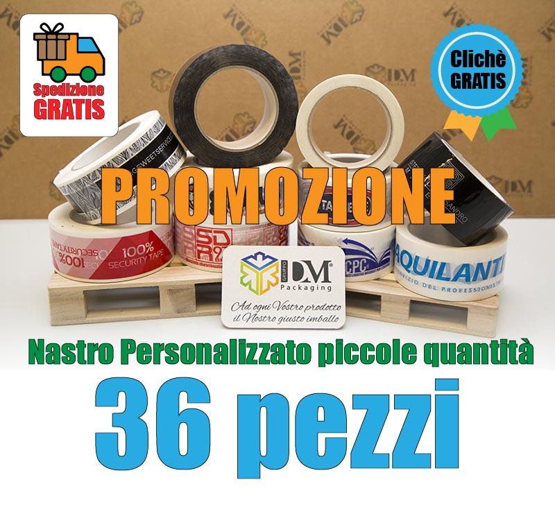 scatolificio roma - promozione nastro piccole quantità