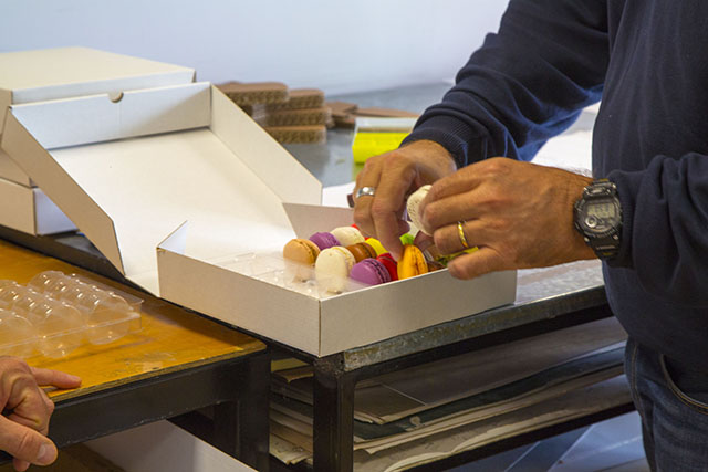 scatolificio roma - scatola su misura macaron