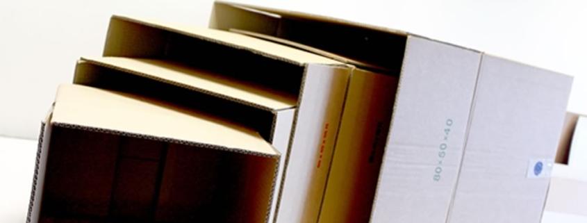 La scatola di cartone: un prodotto intramontabile ma soprattutto riciclabile