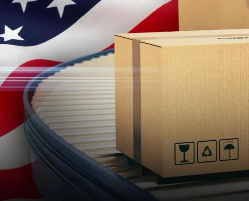 Scatole di cartone: dall'America con furore